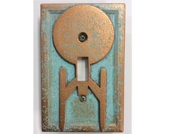 Enterprise Starship (Star Trek) - Light Switch Cover