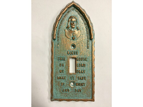 Heart Of Jesus Catholic Light Switch Cover Etsy