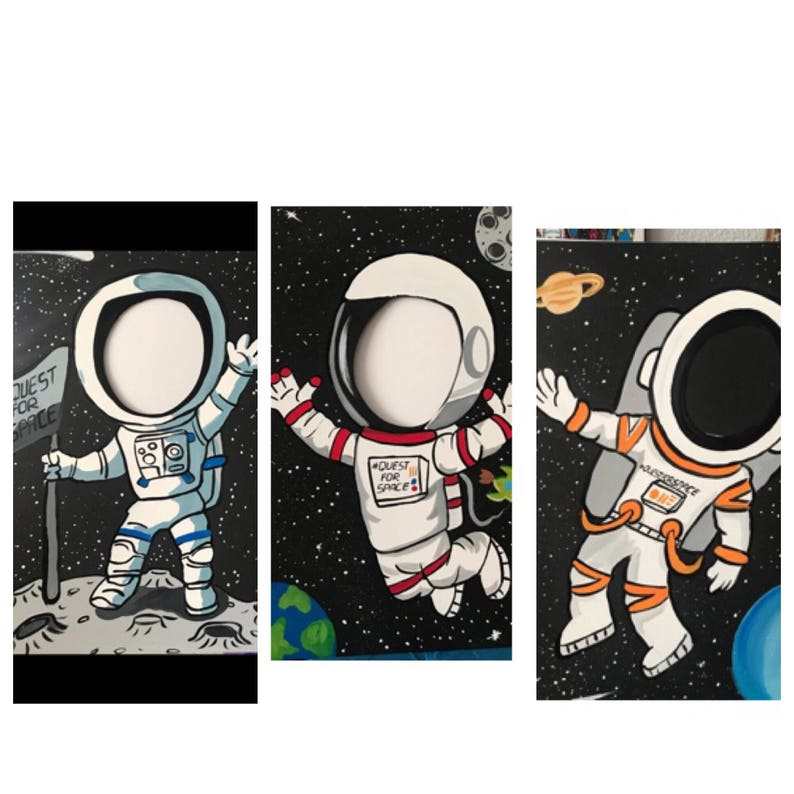 astronaut party printables - 794×794