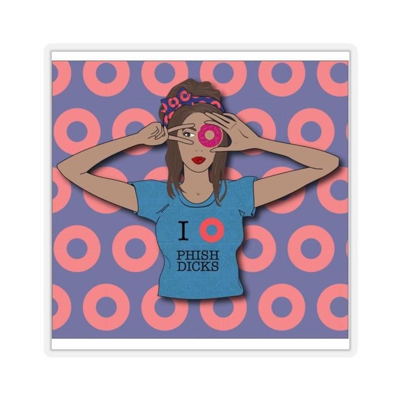 Phish Girls Sticker image 0