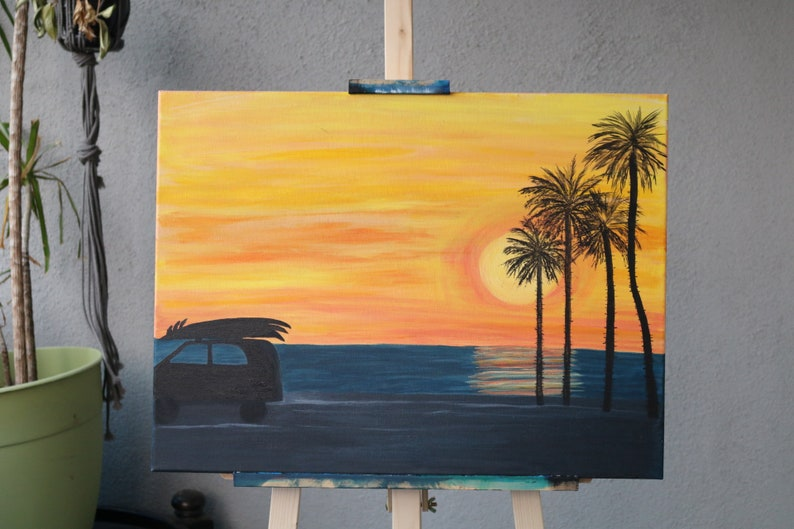 SoCal Home Decor Pacific Sunset 18X20 image 0
