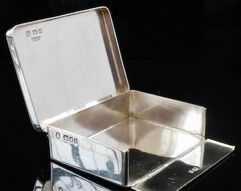Sterling Silver Vintage Bible Prayer Book Box, Hallmarked London 1929, F Osborne & Co Ltd, Hymn, Religious, English, REF:364T
