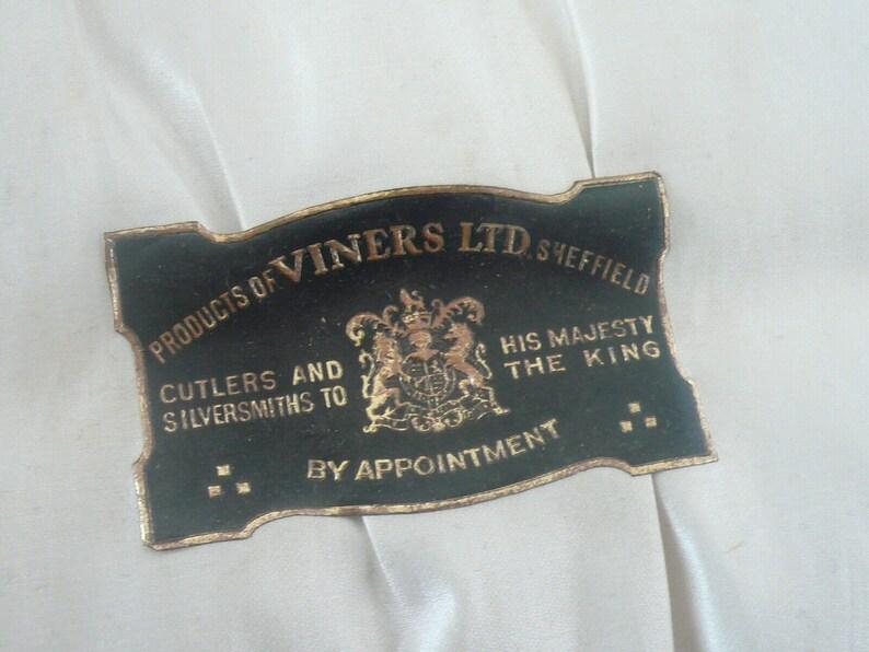 Cased Silver Teaspoons, Sterling, Sugar Tongs, Set 6, English, Cutlery, vintage, Nips, Emile Viner, Hallmarked Sheffield 1930, REF:494Z