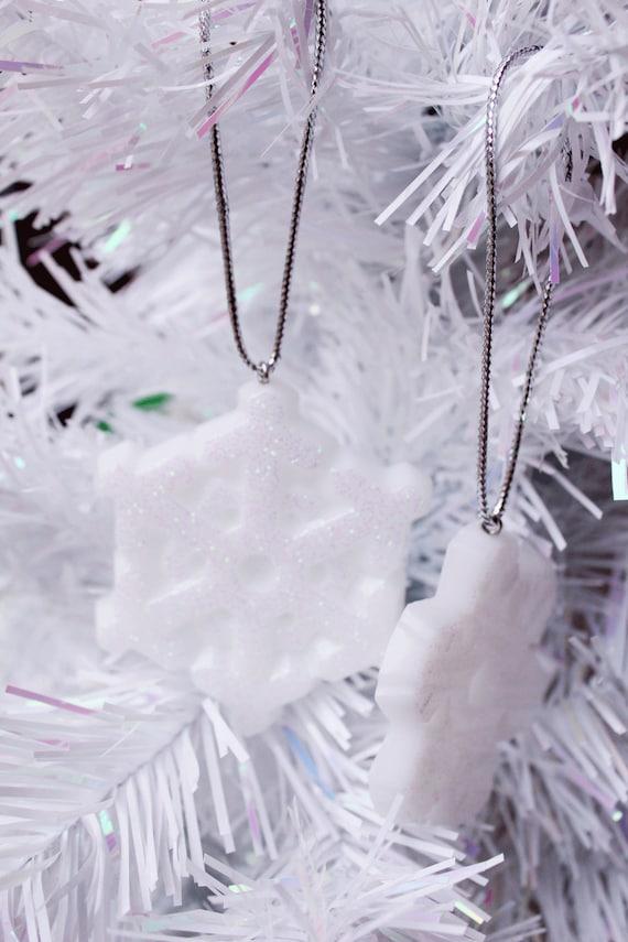 Frozen Christmas Decorations.White Snowflake Decorations Resin Christmas Frozen Inspired Christmas Tree Decorations Blue Christmas Decor Christmas Snowflake