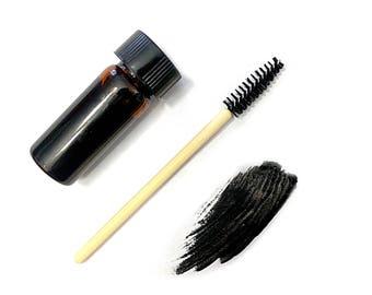 Black Vegan Mascara / Volume Mascara / Zero Waste