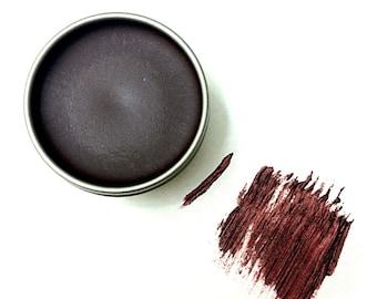 Purple Vegan Zero Waste Cake Mascara, Organic Mascara, Purple Eyeliner, Zero Waste Eyeliner, Plastic Free, Cruelty Free, Gift for Her