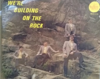 The Hillsmen Quartet, We're Building on the Rock, Mint Condition, Never Played, Vintage Record Album, Gospel Music, Religious Songs