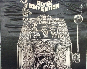 Silver Convention, Get up and Boogie, Vintage Record Album, Vinyl LP 33, Disco Songs, European Musical Group, Dance Music, Clubs, DJ Music