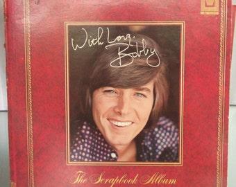 Bobby Sherman, With Love Bobby, The Scrapbook Album, Vintage Record Album, Vinyl LP, Pop Singer, Actor, Teen Heart Throb, Television Star