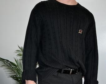 55e08747 TOMMY HILFIGER - Crewneck Pullover Sweater