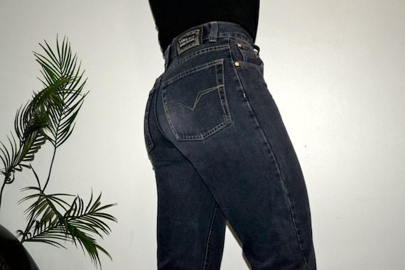VERSACE - Vintage High Waisted Versace Jeans - Vin