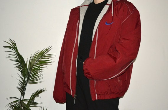 NIKE - Vintage Nike Puffer / Windbreaker Jacket -