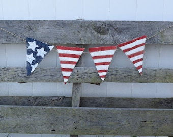 4th of July Decor, Independence Day, Patriotic Decor, Red White and Blue, Fourth of July,American Flag, Stars and Stripes