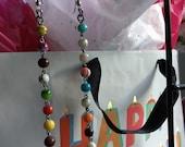 Rosary Earrings