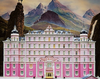 The Grand Budapest Hotel Poster without Overhead Sign