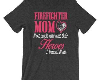 Firefighter MOM  Short-Sleeve Unisex T-Shirt