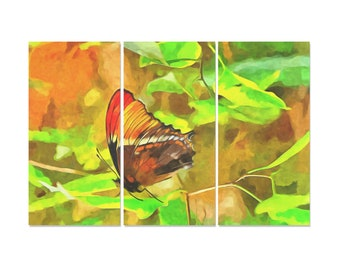 Butterfly Painting 3 Pieces