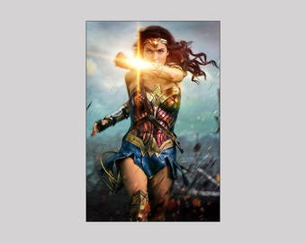 Wonder Woman v-3.1 2017 |  Display Film Poster | Print