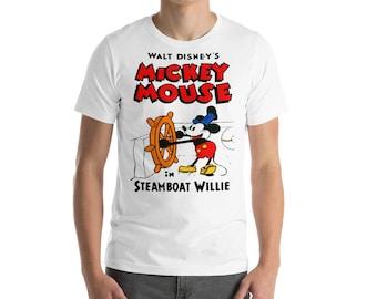 Steamboat Willie Short-Sleeve Unisex T-Shirt