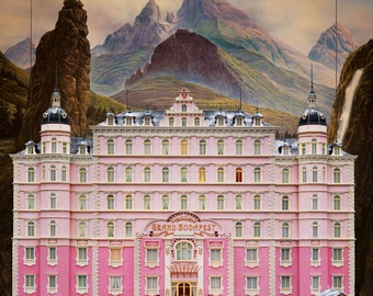 The Grand Budapest Hotel Poster | Print