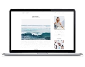 Wordpress Theme - Duende - Responsive Wordpress Blog Design - Wordpress Template - Wordpress Theme Feminime - Wordpress Theme Modern