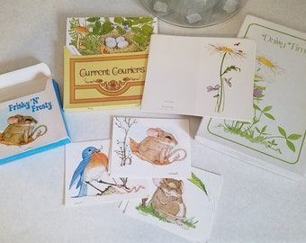 Lot of Various Note Cards by Current - Vintage Stationery  **FREE Shipping!**