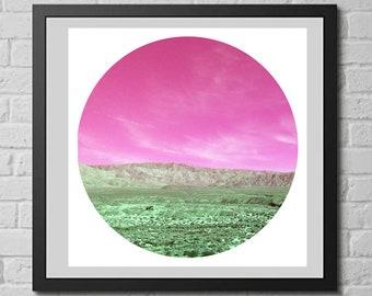 Sky and Desert PRINTABLE WALL ART, Wall Art, Desert Art, Nature Art