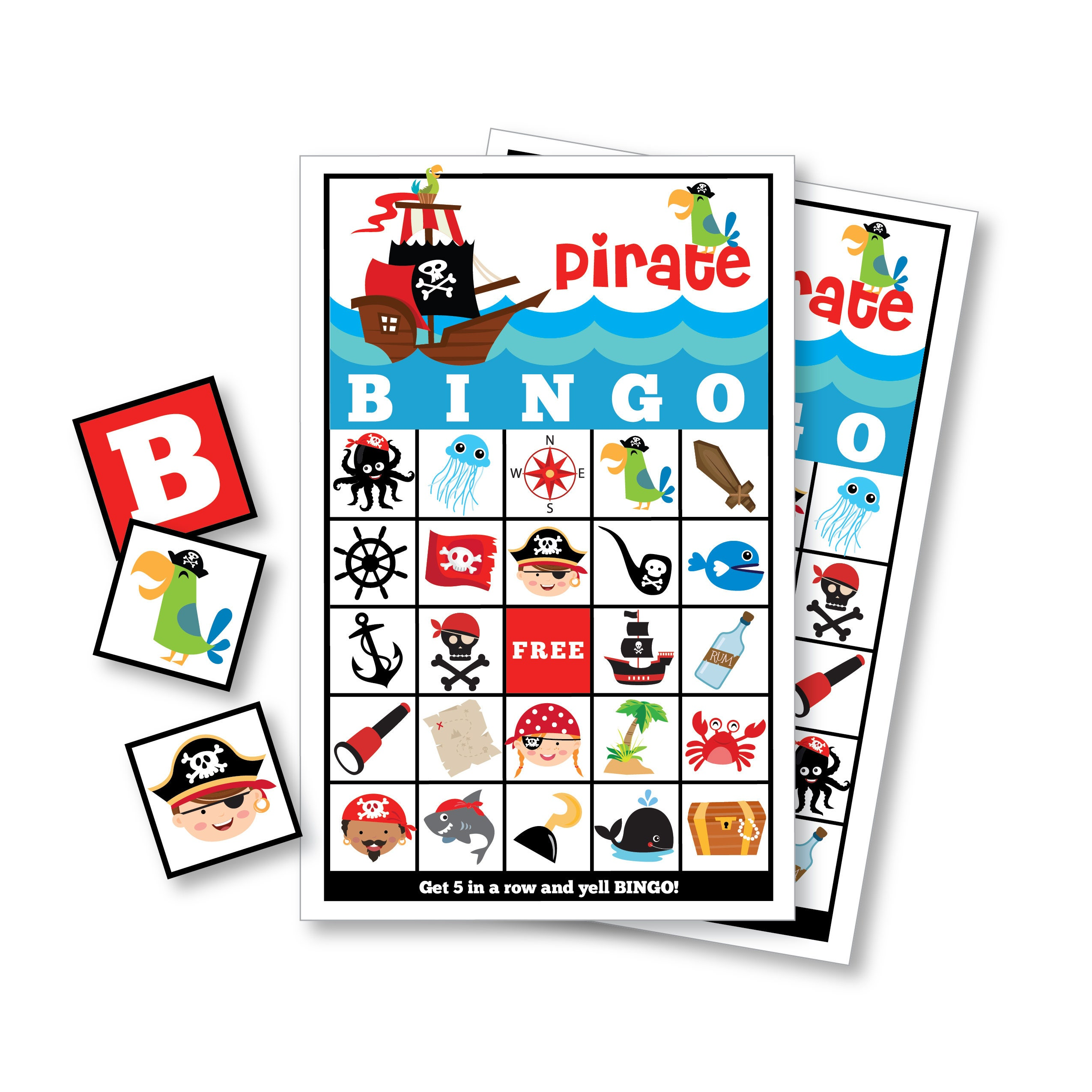 Pirate BINGO Game