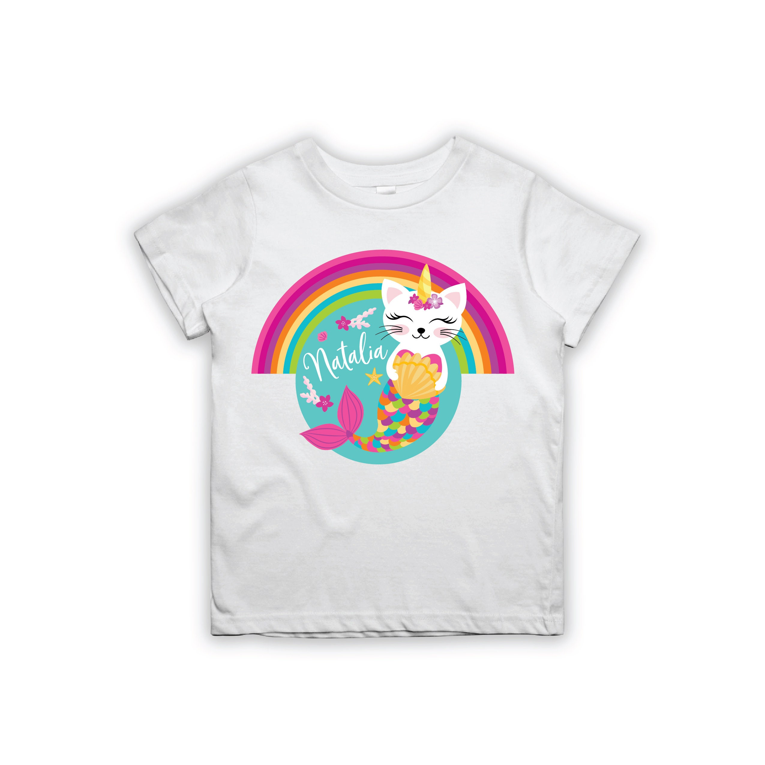 Caticorn T Shirt Design Personalized Printable Caticorn Etsy