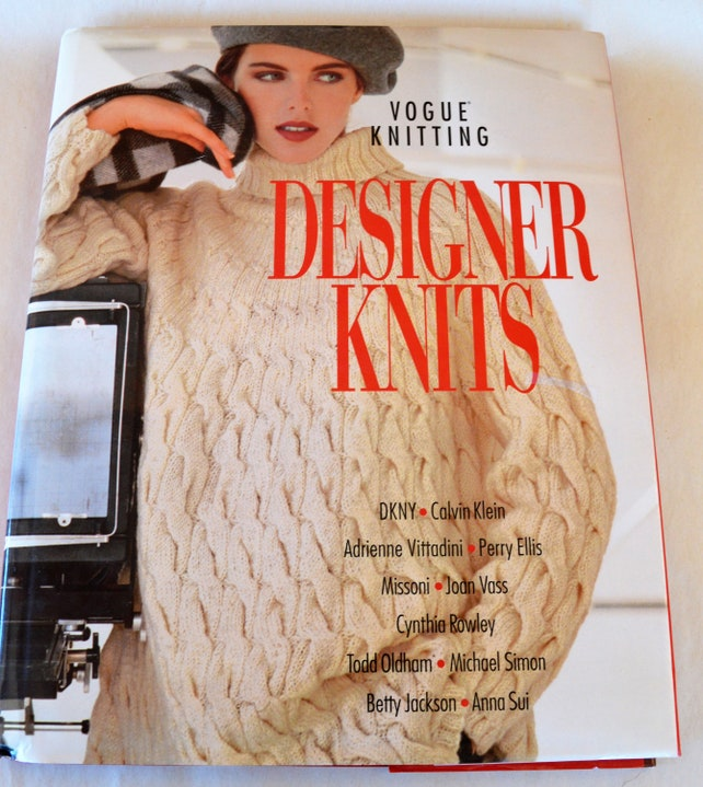 Hcdj Book Vogue Knitting Designer Knits Isbn 1 57389 009 X Etsy