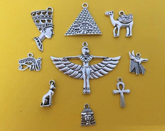 The Egyptian Charm Collection Antique Silver - CC032