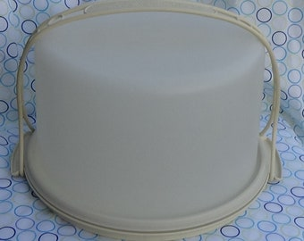 Excellent Tupperware Large Cake Carrier