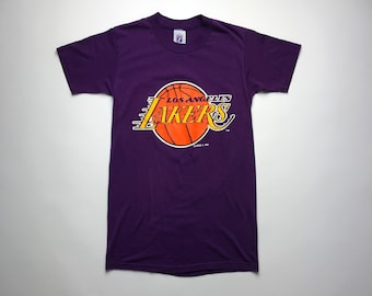 273f494c7 Vintage 80s 90s Los Angeles Lakers Logo 7 T-shirt