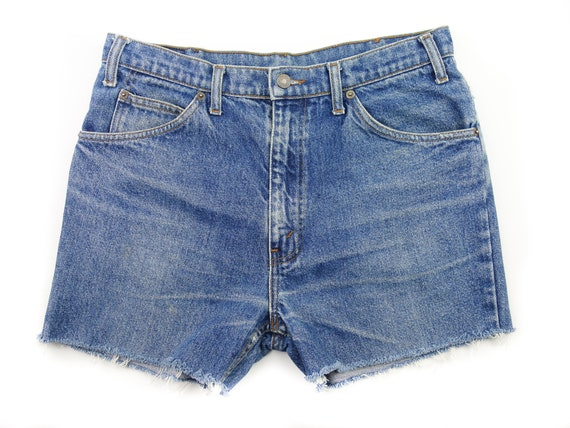 Size Waisted High Off 31 Jean Cut Levi's Etsy Shorts Denim dw6dq