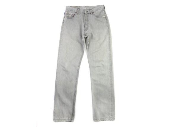 Levi Taille Jeans Mom 501 Etsy Gris Jean 28 Délavé Levis 4vqSxt1