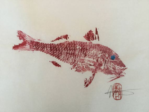 Stampe Arredo Cucina : Stampe cucina arredamento bagno arredamento pesce etsy