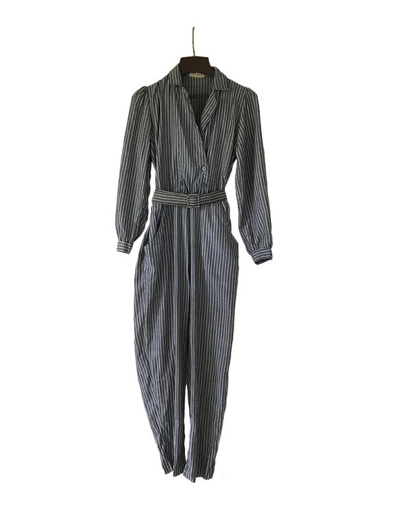 Jump Suit Stripped