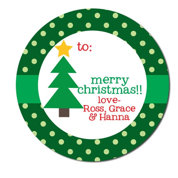 Address Labels Christmas Cards Christmas Round Address Labels Navy Lime Gator Ornament Round Labels Preppy Labels