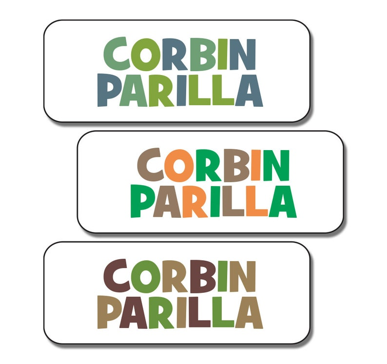 Daycare and Camp Labels 30 Waterproof Name Labels for Boys or Girls School Dishwasher Safe Baby Bottle Stickers