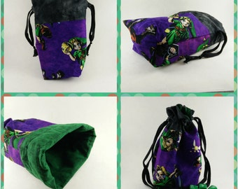 Legend of Zelda Lined Dice Bag