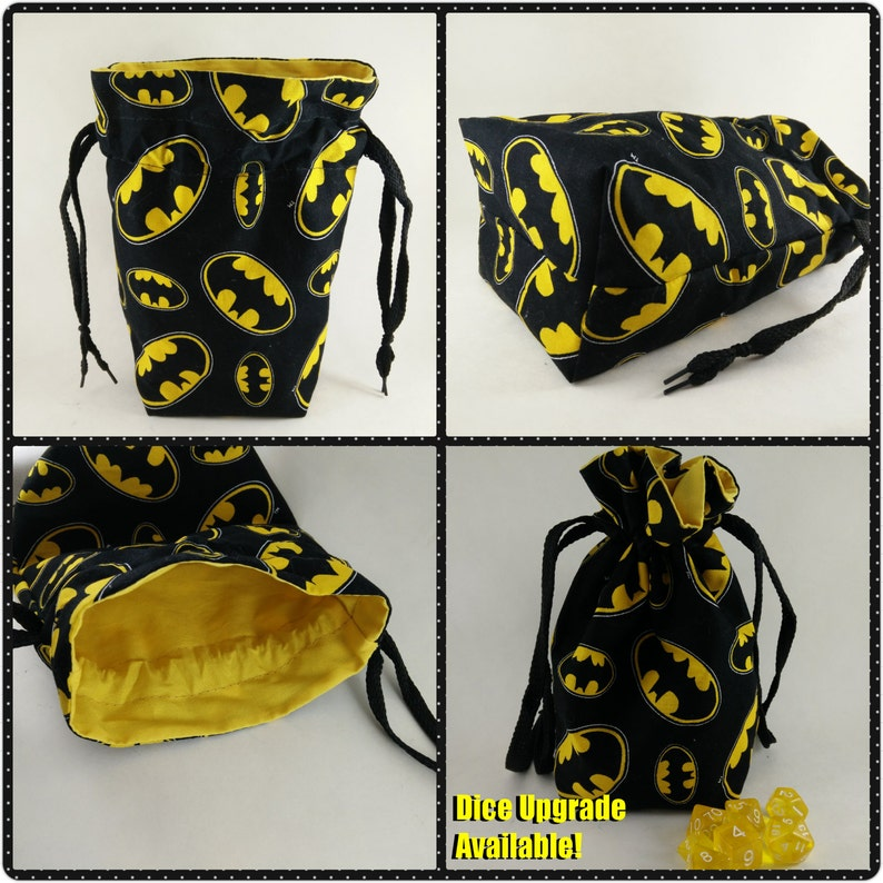 Batman Lined Dice Bag image 0