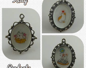 Cute Kitty Pendant