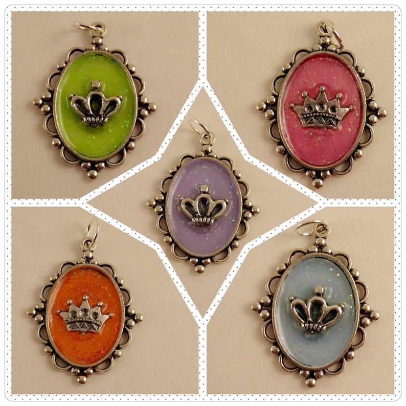 Color Crown Pendants image 0