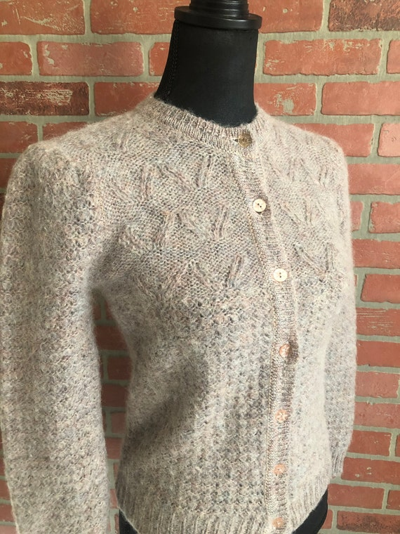 Vintage 1970's Mohair Sweater
