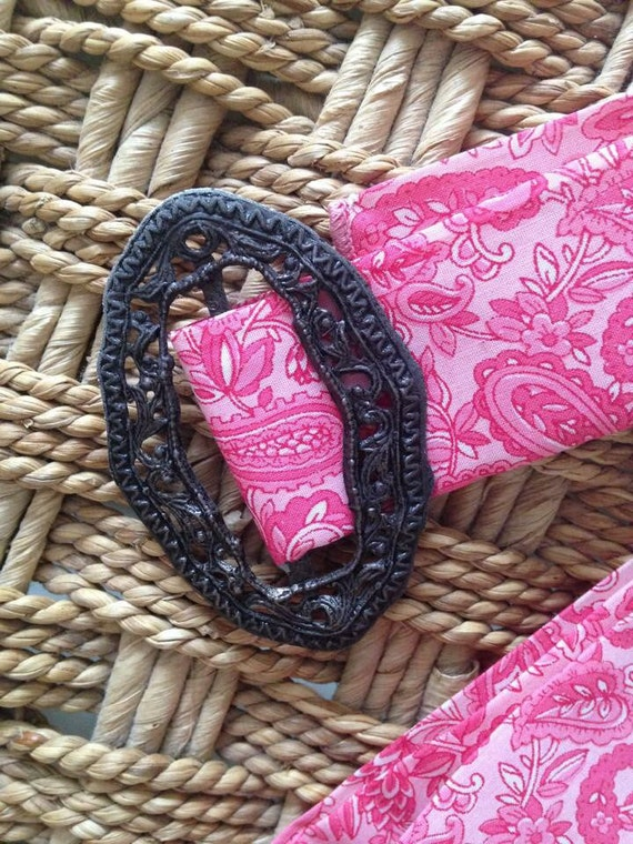 Vintage Victorian Buckle Belt