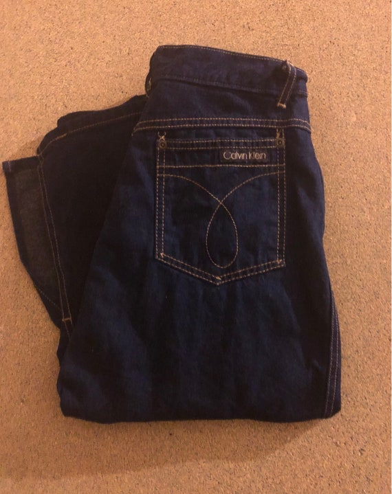 Vintage Calvin Klein Jean Skirt High waisted 70/80's