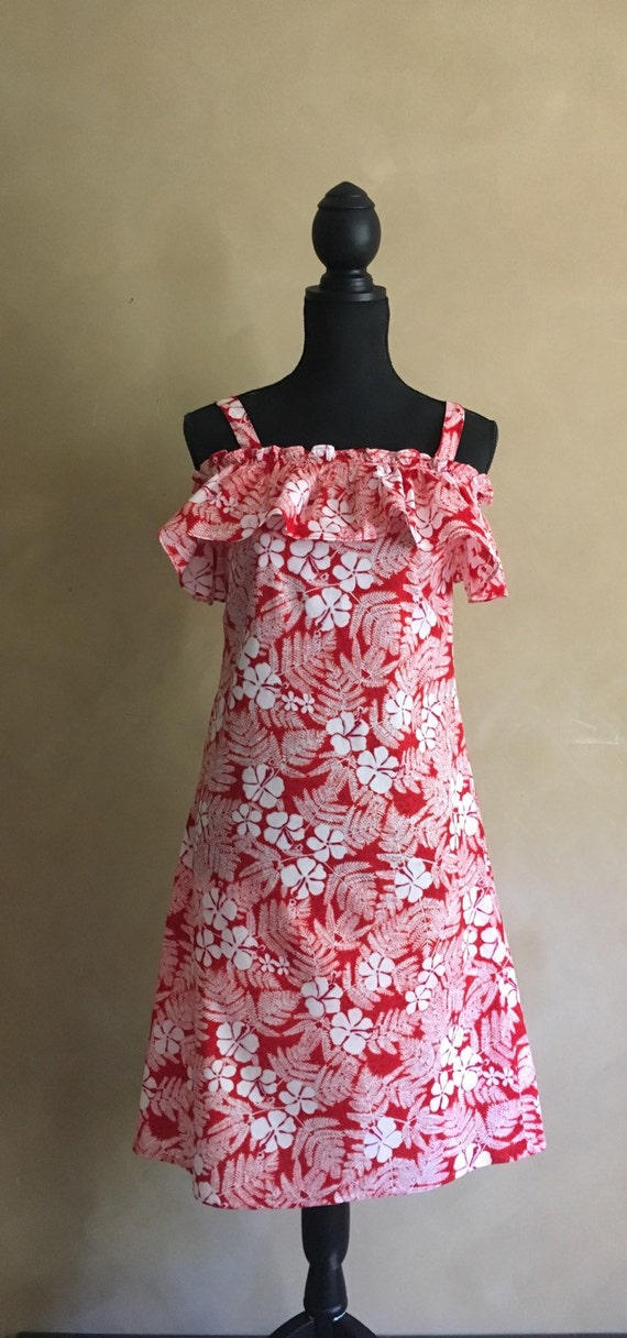 Vintage Hawaiian Dress - made in Hawaii