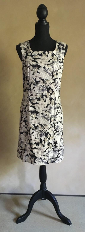 Laura Ashley Vintage Dress Floral 80's