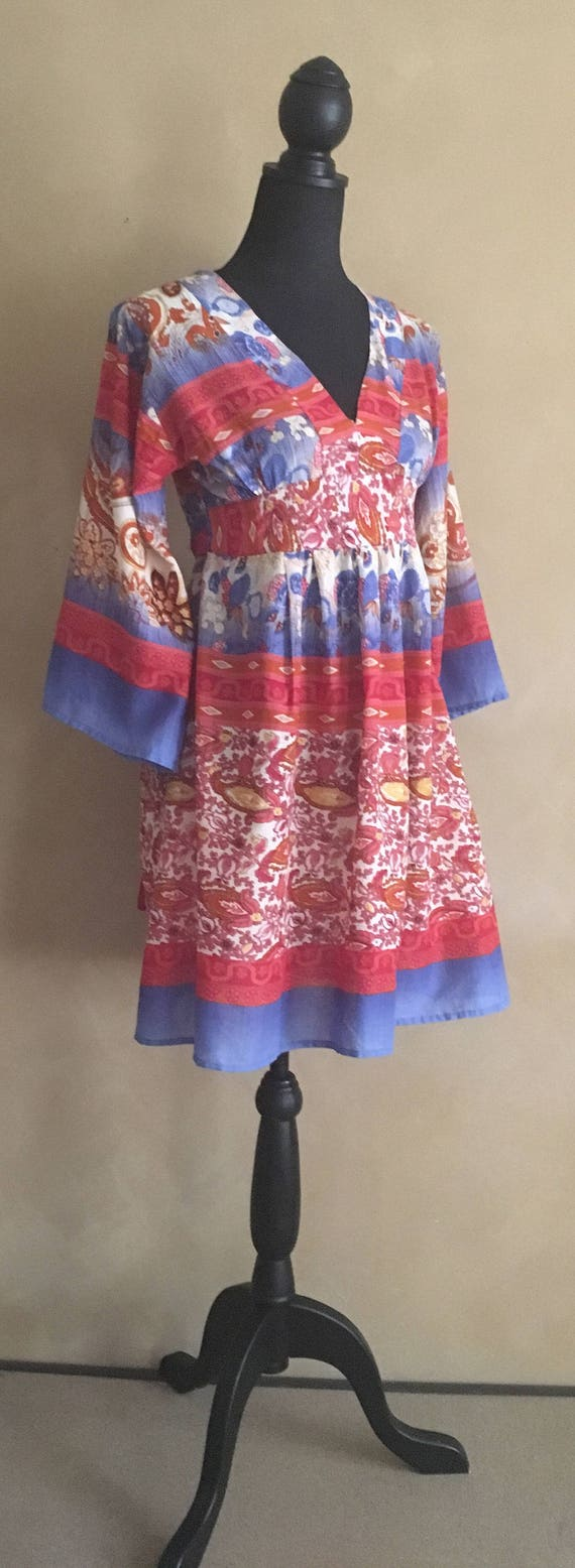 Bohemian Dress Cotton made in Thailand