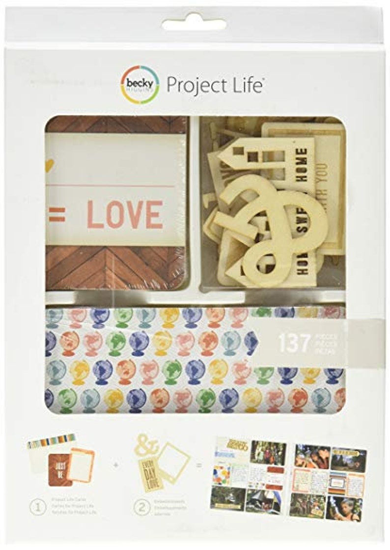 Project Life  Ready Set Go Value Kit 137 Cards image 0